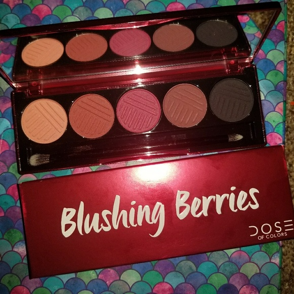 Dose of Colors Other - SOLD!//Dose of Colors Blushing Berries Palette